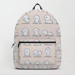 Bichon Frise Yoga Backpack