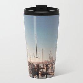 Sailboats-Film Camera Travel Mug