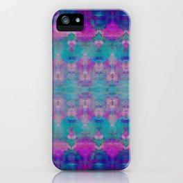 Watercolour Tribal Pink iPhone Case