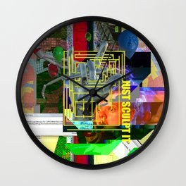 Just Sculpt It 1 Wall Clock
