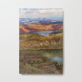 Millions of Years in Color Metal Print