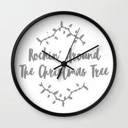 Rockin Around Wall Clock