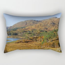 Glenfinnan Autumn Colors in Scotland Rectangular Pillow