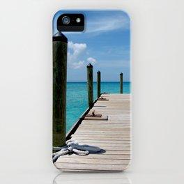 Grand Turk Pier iPhone Case