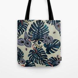 Jungle Lizards Tote Bag