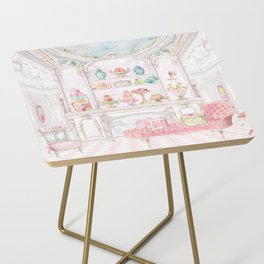 French Patisserie  Side Table