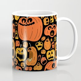 Pumpkin Pattern Coffee Mug