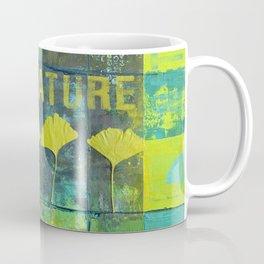 Green nature greenery gingko leaf collge Coffee Mug