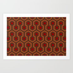 The Overlook Rug Collection Art Print