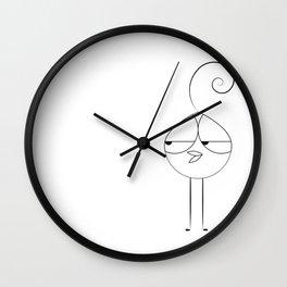 Lola Bird Wall Clock