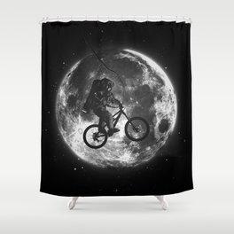E.T.B. (monochrome series) Shower Curtain
