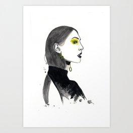 Fahion Illustration Art Print