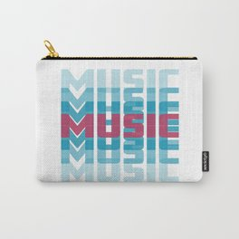 Music (texts in neon) Carry-All Pouch