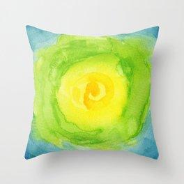 Iceberg Lettuce Throw Pillow
