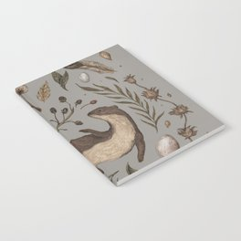 Weasel and Hedgehog Notebook