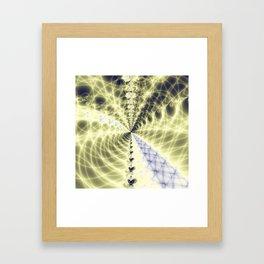 Fractal Bridge Framed Art Print