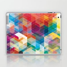 Cuben Curved #5 Laptop & iPad Skin