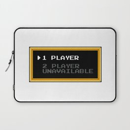 Player 1 Player 2 Unavailable Laptop Sleeve