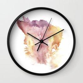 Verronica's Vagina Print Wall Clock