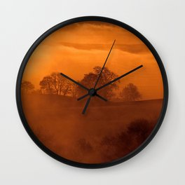 Fog 12 Wall Clock