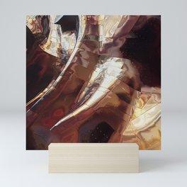 Sheet Metal In Space Mini Art Print