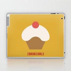 2 Broke Girls - Minimalist Laptop & iPad Skin