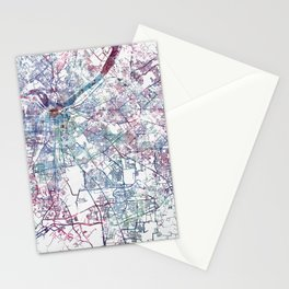 Louisville map (without name) Stationery Cards