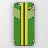 persona 4 iPhone & iPod Skins featuring Persona 4 Chie Satonaka Jacket by Bunny Frost