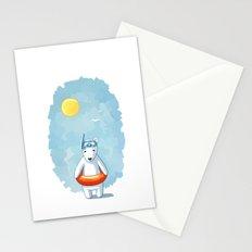 Polar Beach Stationery Cards