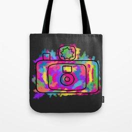 Colorful Camera Tote Bag