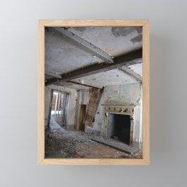 Abandoned mansion Framed Mini Art Print