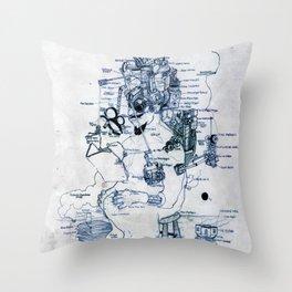 Zihni Throw Pillow