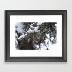 Blizzard of 2014 Framed Art Print