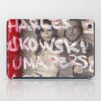 bukowski iPad Cases featuring Bukowski by Ibbanez