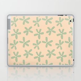 Green & Pink Floral Laptop & iPad Skin