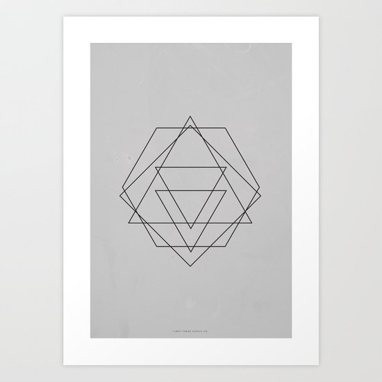 Geometric No.2 Art Print