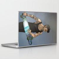 zayn Laptop & iPad Skins featuring Zayn Longboard by Skaikat