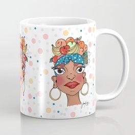 Tres Damas de Frutas by Ramona X Coffee Mug