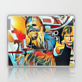 The Wookiee and the Pilot Laptop & iPad Skin