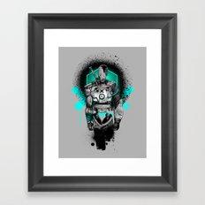 Elektrik Sun Framed Art Print
