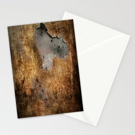 Metall  Stationery Cards