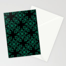 Lush Meadow Vintage Brocade Damask Stationery Cards