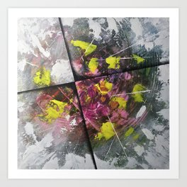 Hora - The time at Which a Particular thing Happen | canvas Abstract Art Print