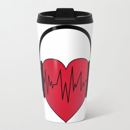 Music of love Travel Mug