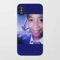 model iPhone & iPod Cases featuring Model by Azeez Olayinka Gloriousclick