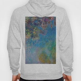 Wisteria by Claude Monet Hoody