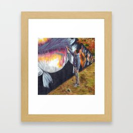 Koi Mural, Little Five Points Framed Art Print