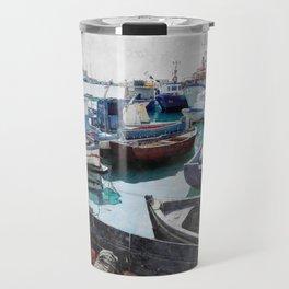 Trapani art 5 Travel Mug