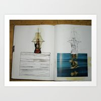 another photo from one of my sketchbooks Art Print