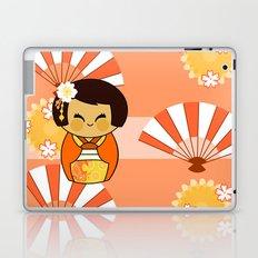 Kokeshi Momo Laptop & iPad Skin